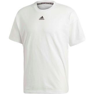 adidas Funktionsshirt Herren white-black