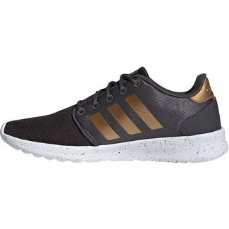 adidas QT Racer Sneaker Damen grey six-tactile gold