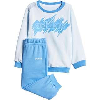 adidas I LIN JOGG FT Trainingsanzug Kinder sky tint-lucky blue