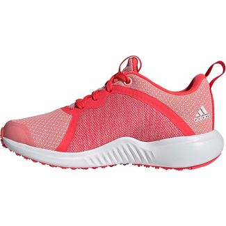 adidas FortaRun K Laufschuhe Kinder glory pink-ftwr white-shock red