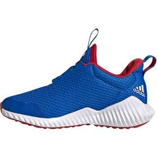 adidas FortaRun K Laufschuhe Kinder glory blue-ftwr white-scarlet