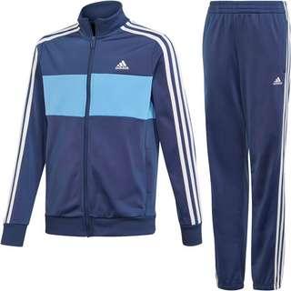 adidas YB TS TIBERIO Trainingsanzug Kinder tech indigo-lucky blue-white