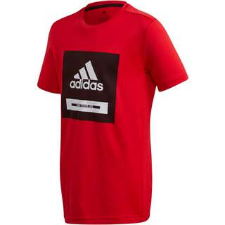 adidas JB TR BOLD TEE T-Shirt Kinder vivid red-black-white