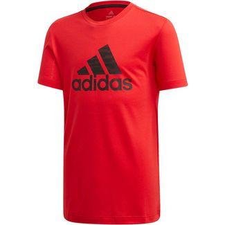 adidas JB TR PRIME TEE T-Shirt Kinder vivid red-black