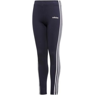adidas YG E 3S TIGHT Tights Kinder legend ink-white-white