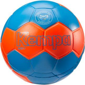 Kempa Soft Handball fluo rot-kempablau