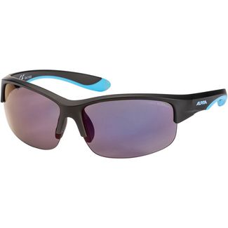 ALPINA FLEXXY YOUTH HR Sportbrille Kinder black matt-blue