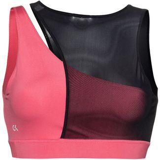 Calvin Klein Utility Strong Sport-BH Damen claret red