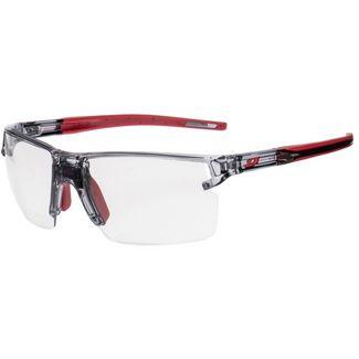 Julbo Sportbrille schwarz-rot