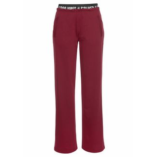S.OLIVER Sweathose Damen bordeaux
