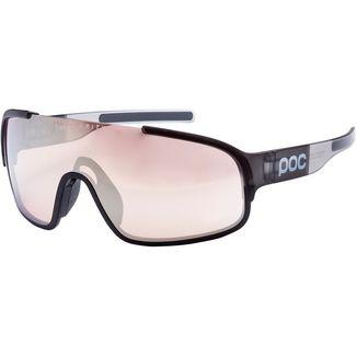 POC Crave Sportbrille uranium black translucent/grey