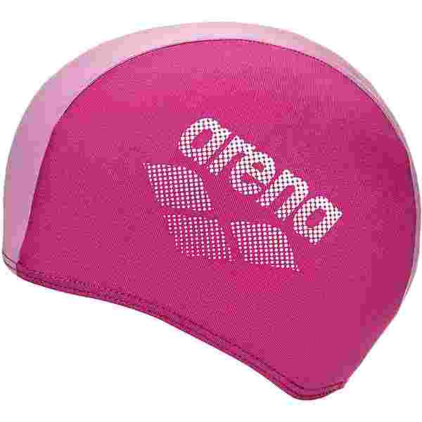 Arena POLYESTER II JR Badekappe Kinder fuchsia pink