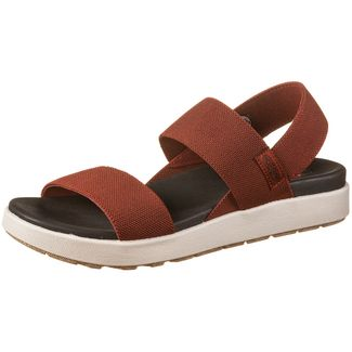 Keen Elle Backstrap Sandalen Damen fired brick