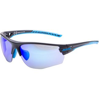 ALPINA TRI-SCRAY 2.0 HR Sportbrille black matt-cyan