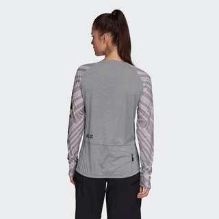 adidas Five Ten Trailcross Longsleeve Funktionsshirt Damen Grau