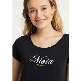 Schmuddelwedda Printshirt Damen schwarz