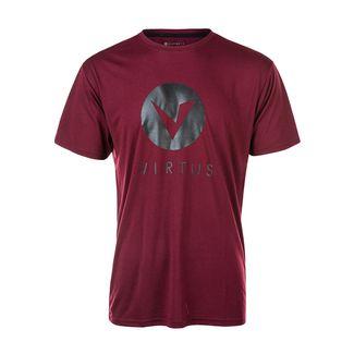 Virtus Printshirt Herren 4011 Burgundy