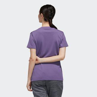adidas Designed 2 Move Solid T-Shirt T-Shirt Damen Tech Purple / Black