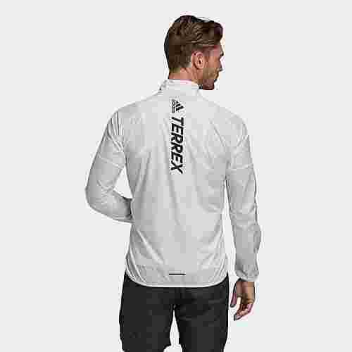 adidas TERREX Agravic Windbreaker Trainingsjacke Herren Weiß