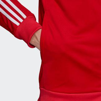 adidas 3-Streifen Trainingsanzug Trainingsanzug Herren Scarlet / White