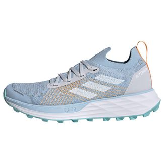 adidas TERREX Two Parley Trailrunning-Schuh Laufschuhe Damen Dash Grey / Cloud White / Blue Spirit