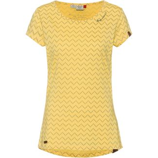 Ragwear Mint T-Shirt Damen yellow