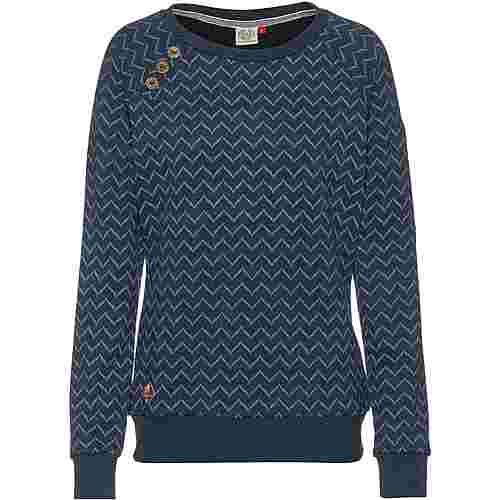 Ragwear Daria Sweatshirt Damen denim blue