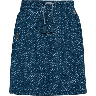 Ragwear Miranda Minirock Damen denim blue