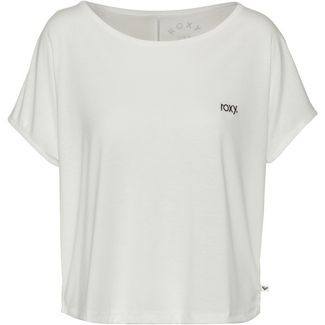 Roxy T-Shirt Damen snow white