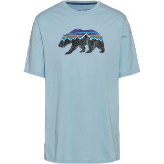 Patagonia Fitz Roy Bear T-Shirt Herren big sky blue