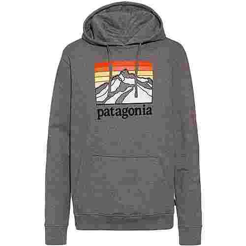 Patagonia Line Logo Ridge Uprisal Hoodie Herren gravel heather