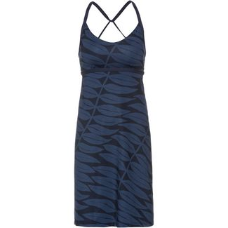 Patagonia Sundown Sally Trägerkleid Damen eucalyptus fronds-new navy
