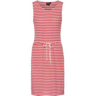 WLD TOUCH OF ICE II Jerseykleid Damen coral white stripes