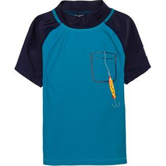 COLOR KIDS Ejnar UV-Shirt Kinder crystal teal