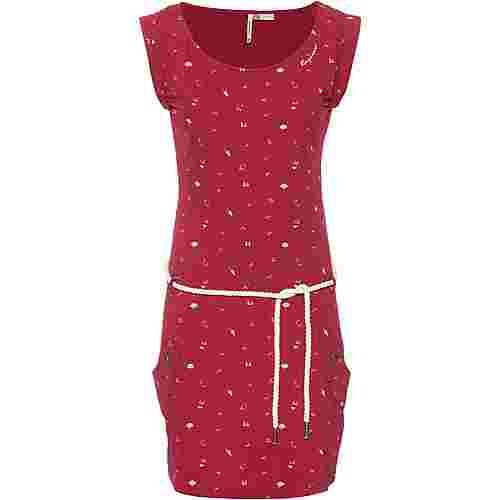 Ragwear Tag A Organic Jerseykleid Damen red