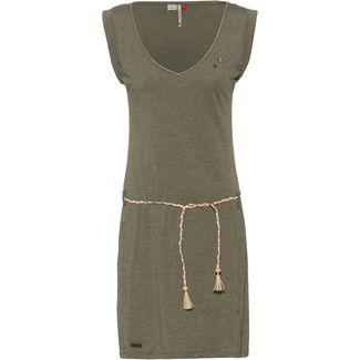 Ragwear Slavka Jerseykleid Damen olive