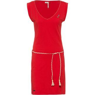 Ragwear Slavka Jerseykleid Damen red