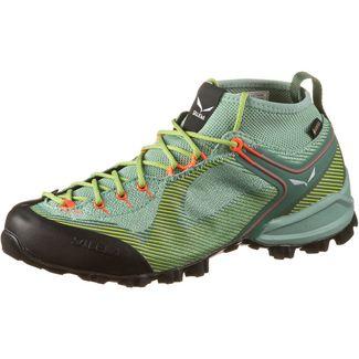 SALEWA GTX® WS Alpenviolet Wanderschuhe Damen feld green-fluo coral