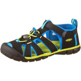 Keen Seacamp II CNX Outdoorsandalen Kinder black-brilliant blue