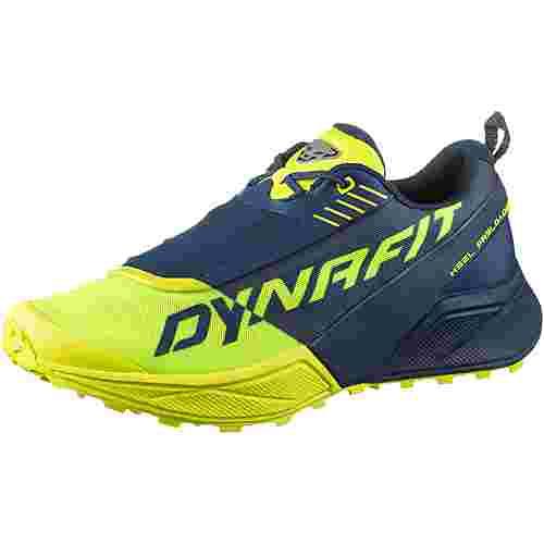 Dynafit ULTRA 100 Trailrunning Schuhe Herren poseidon-fluo yellow