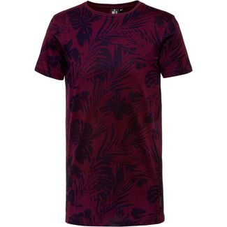 WLD BLACK AS NIGHT T-Shirt Herren bordeaux