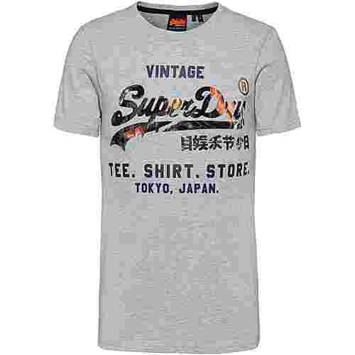 Superdry T-Shirt Herren grey marl