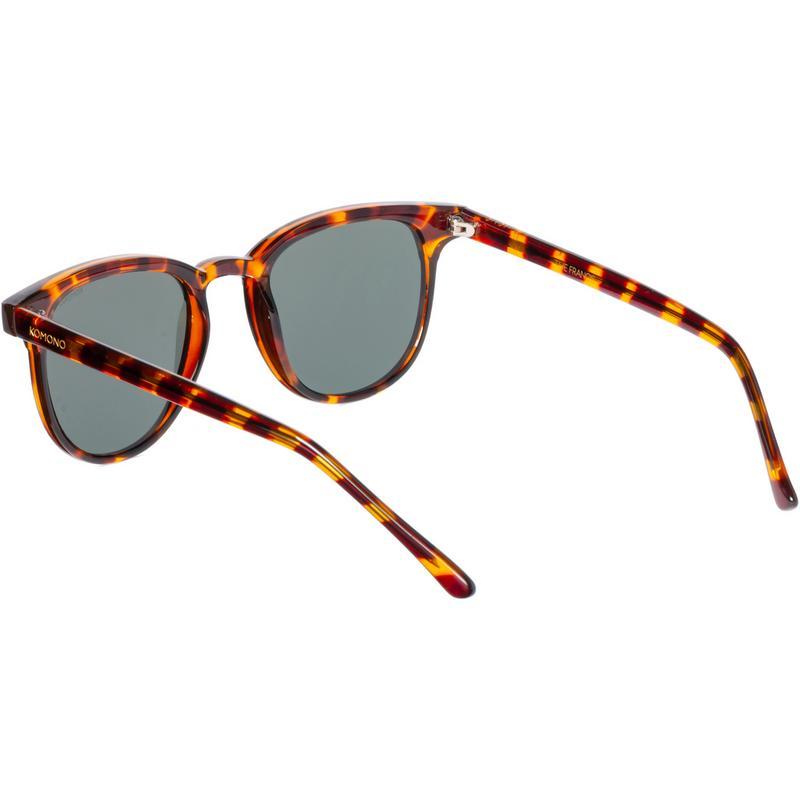 Artikel klicken und genauer betrachten! - Komono FRANCIS S2254. Sonnenbrille im Tortoise-Look mit geschlossener Rahmenkonstruktion; anatomisch geformter Nasensteg; schmale Bügel; Polycarbonat Gläser; Schutzkategorie: 3; inklusive Etui.   im Online Shop kaufen