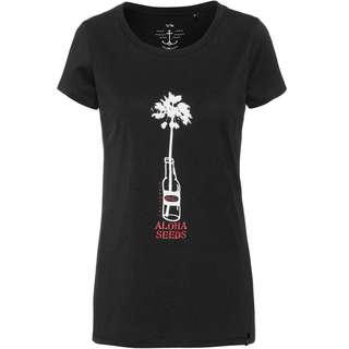 WLD PERSUIT OF HAPPINESS Printshirt Damen black