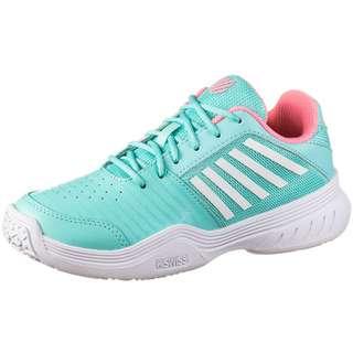 K-Swiss Court Express Omni Tennisschuhe Kinder aruba blue-soft neon pink-white