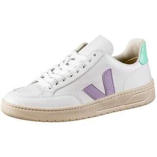 VEJA V-12 Sneaker Damen extra white-parme-turquoise