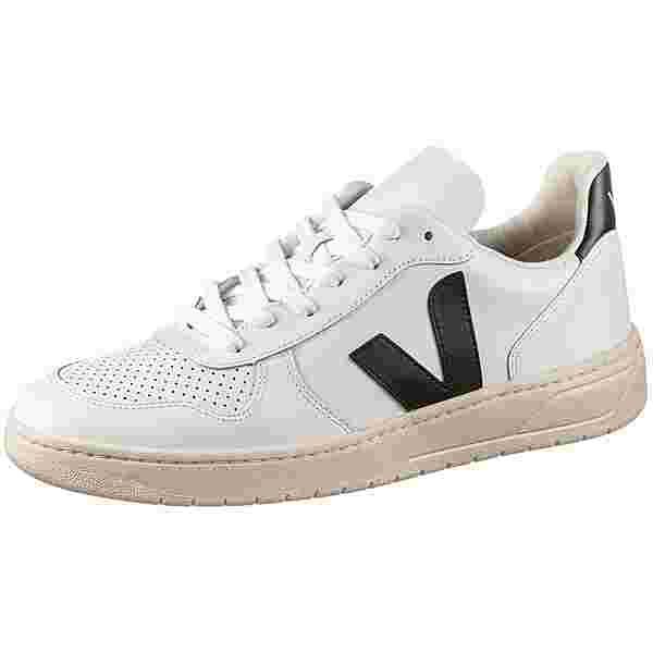 VEJA V-10 Sneaker extra white-black