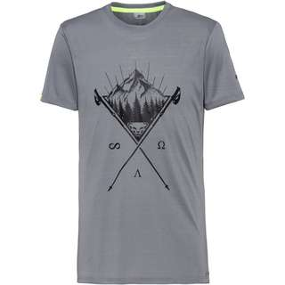 Dynafit Transalper Graphic Funktionsshirt Herren quiet shade