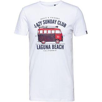 WLD SUNDAYS IMPRESSION Printshirt Herren white