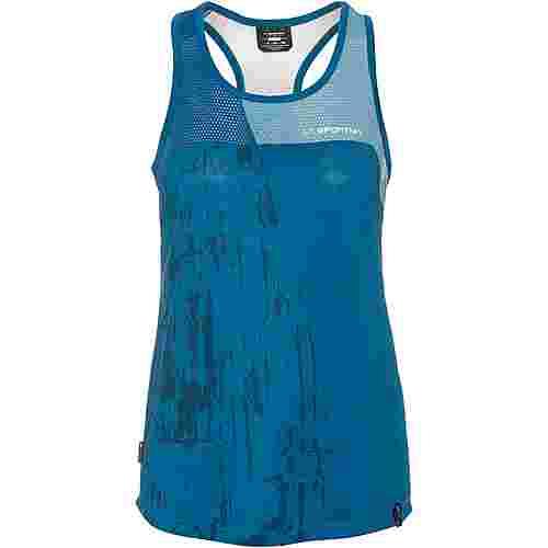 La Sportiva Chemistry Tanktop Damen neptune-pacific blue